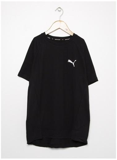 Puma Puma 58322501 Evostripe Tee Siyah ErkekÇocuk T-Shirt Siyah